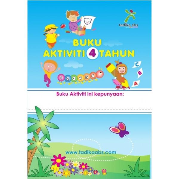 Buku Aktiviti 3 bulan (4,5,6 tahun)