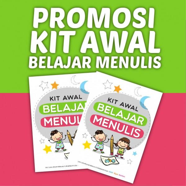 Promosi Buku Kit Awal Belajar Menulis
